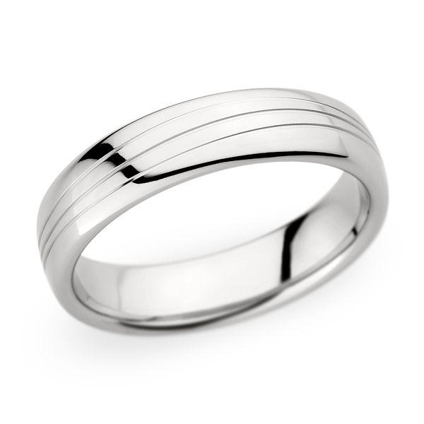 palladium wedding band by christian bauer palladium wedding bandschristian - Palladium Wedding Rings