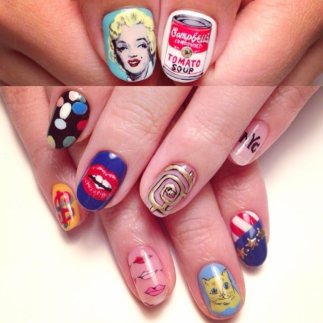 """""""#nail #AndyWarhol"""""""