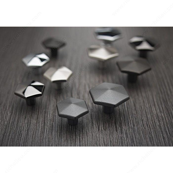 Transitional Metal Knob - 5078 - Richelieu Hardware