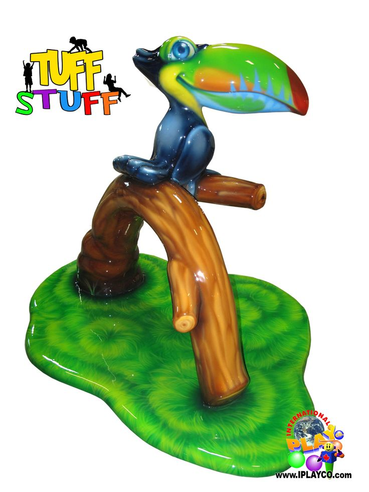 TUFF STUFF ™ - Toucan - Soft Sculpted Foam Play Areas - Individual children play elements which are themed and durable. One of a kind. Custom for your budget and size of play area. Stimulates imagination, creativity, interactive and easy to clean. Perfect for shopping centers, airports, museums, fitness centers, restaurants... anywhere that toddlers play. #commercial #play #structures #Toucan #Iplayco #WeBuildFUN   Contact  sales@iplayco.com for more information.
