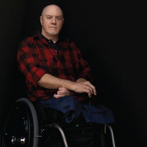 We have worked with Marine Veteran and athlete Michael Johnson for over a year now and we wanted to share his story with you again. Michael joined the Marines and due to an accident, he lost both of his legs.