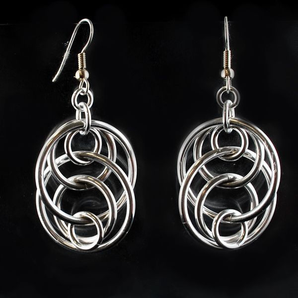 Illusion Loops Earrings - Introductory level Jewelry-Making Class - Saturday may…