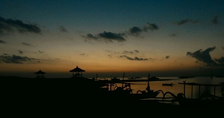 Silent view, Sanur (Bali - Indonesia).
