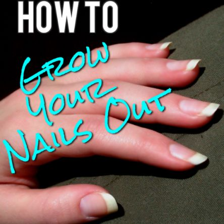 How to Grow Your Nails Out