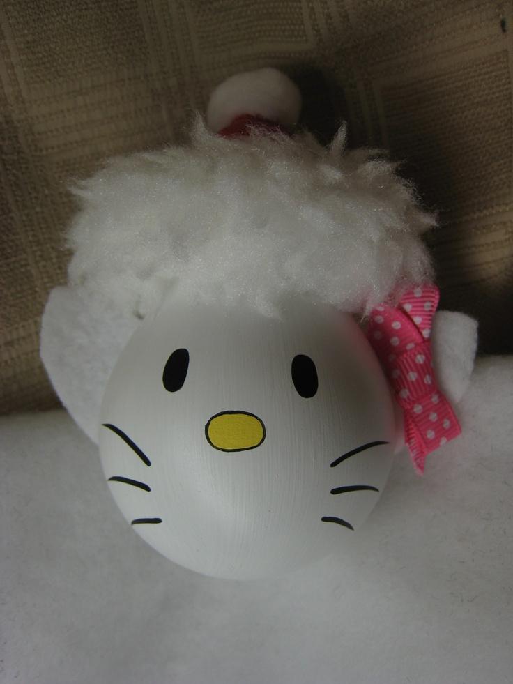 Light Bulbs, Hello kittyHellokitty, Christmas Ornaments
