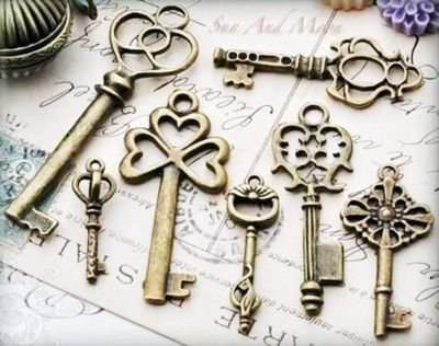 old school keys