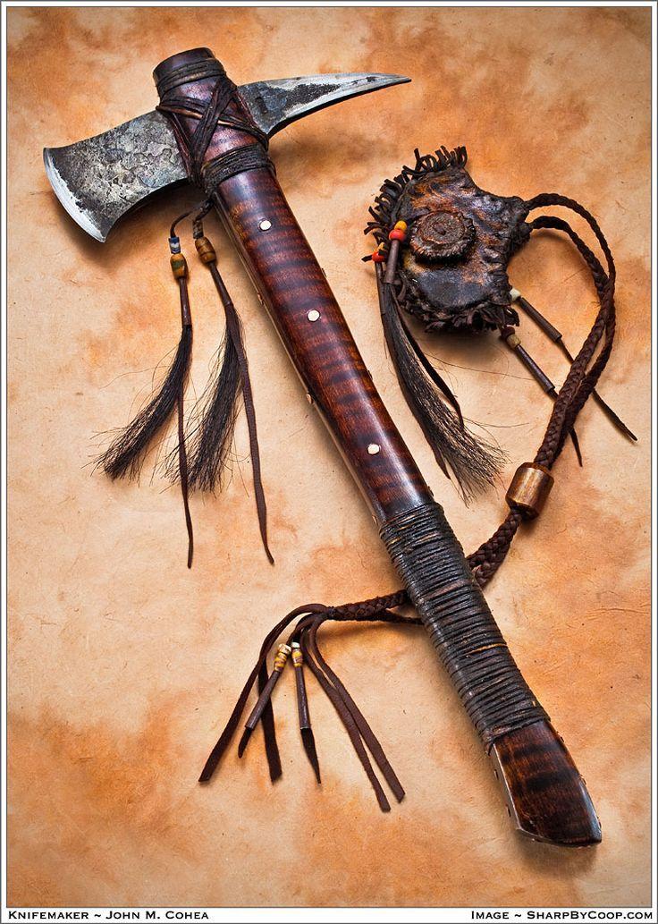 Tomahawk= Native American so nice.