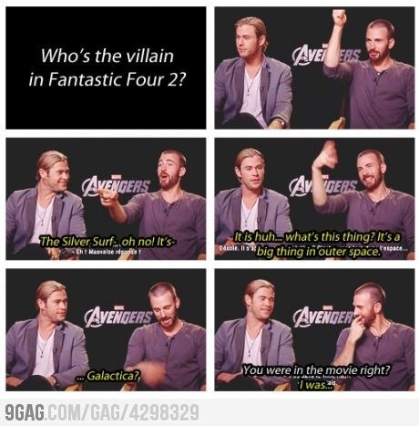 oh chris evens its such a bad movie not even one I the fantastic four can remember the plot :P
