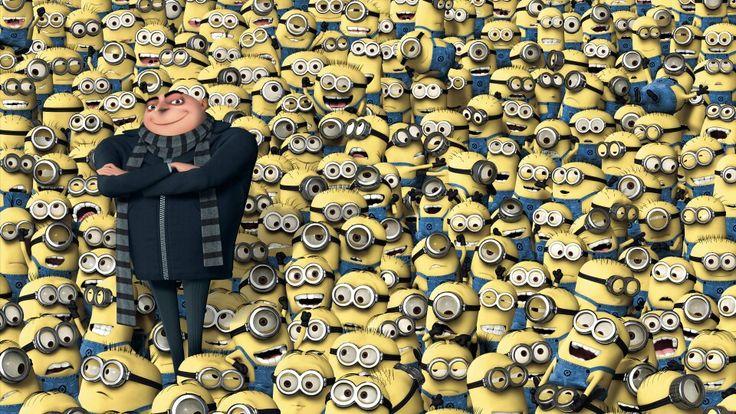 Gru & millions of Minions