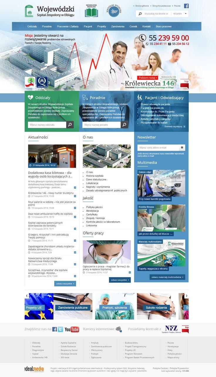WebDesign 2013 - grafika dla Szpitala w Elblągu
