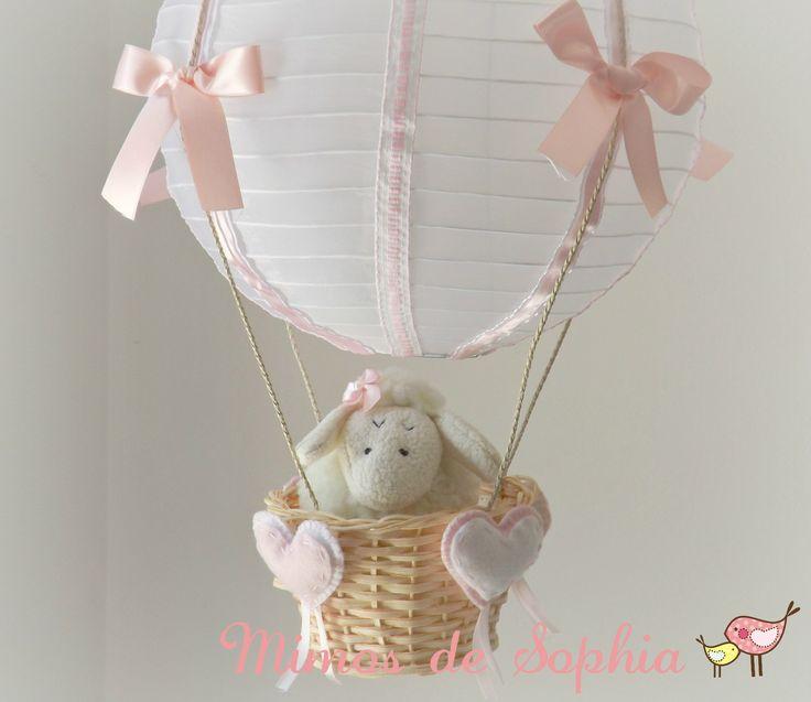 Luminária Lustre Balão - Ovelha RB | Mimos de Sophia | Elo7