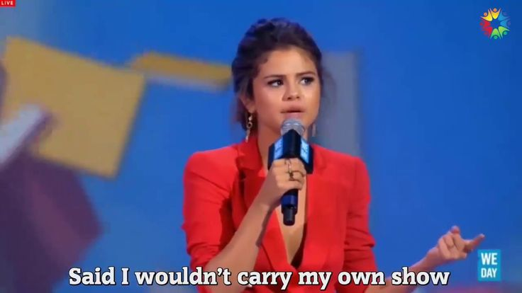 Why Criticism and Judgement Can SAVE You - Selena Gomez