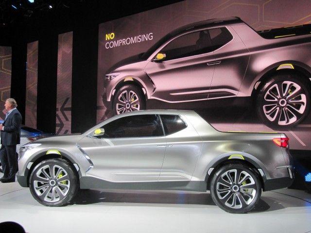 Hyundai Santa Cruz Crossover Truck Concetto, 2015 Detroit Auto Show