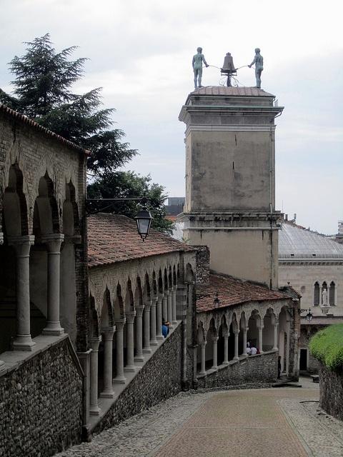 Loggia del Lippomano and Torre dellOrologio, Udine by Paul McClure DC, via Flickr - #udine #friuli #city #travel #italy - Stop&Sleep Udine