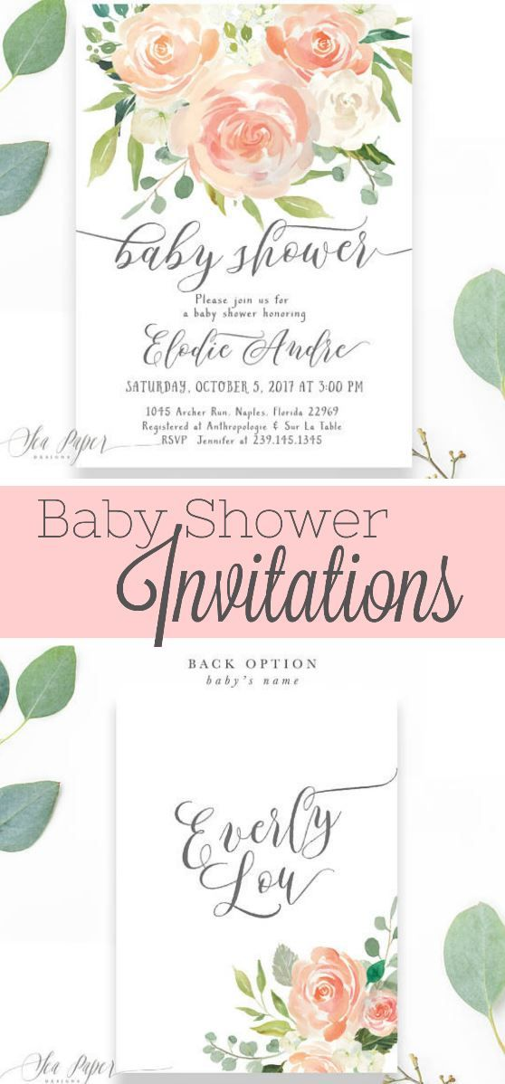 these are such darling baby girl shower invitations they are