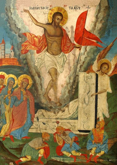 """theraccolta: """"But now Christ is risen from the dead, the first-fruits of them that sleep."""" - 1st Corinthians 15:20"""