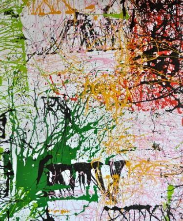 "Saatchi Art Artist sarita rheeder-rosa; Painting, ""sprout4_"" #art"