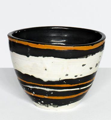 Géza Gorka; Glazed Ceramic Bowl, c1960.