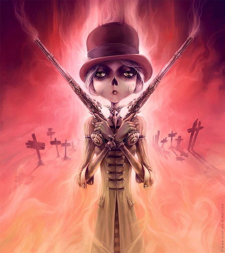 The Wicked Lady - © Art by Élian Black'Mor
