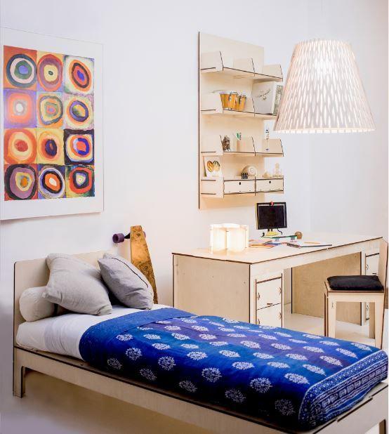 Le 25 migliori idee su mensole da letto su pinterest letti di camera di dormitorio e grafica - Mensole camera da letto ...
