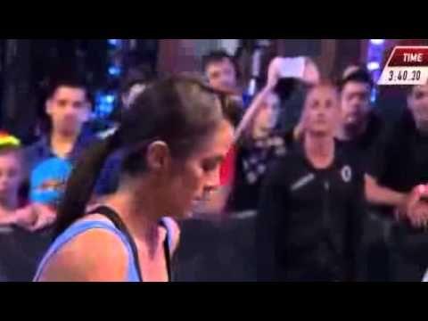 Kacy Catanzaro FULL VIDEO - American Ninja Warriors 2014 Winners Full highlights of Katy Catanzaro, the unbeatable woman that conquer American Ninja Warriors...