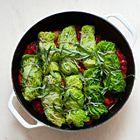 Savooiekool-rolletjes gevuld met snijbiet en ricotta - recept - okoko recepten
