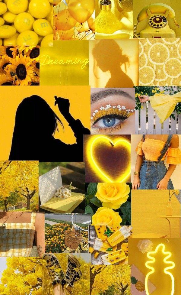 انا احب اللون الأصفر شرايكم فيها Aesthetic Iphone Wallpaper Iphone Background Wallpaper Edgy Wallpaper