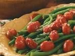 Green Beans with Roasted Grape Tomatoes Recipe | Taste of Home