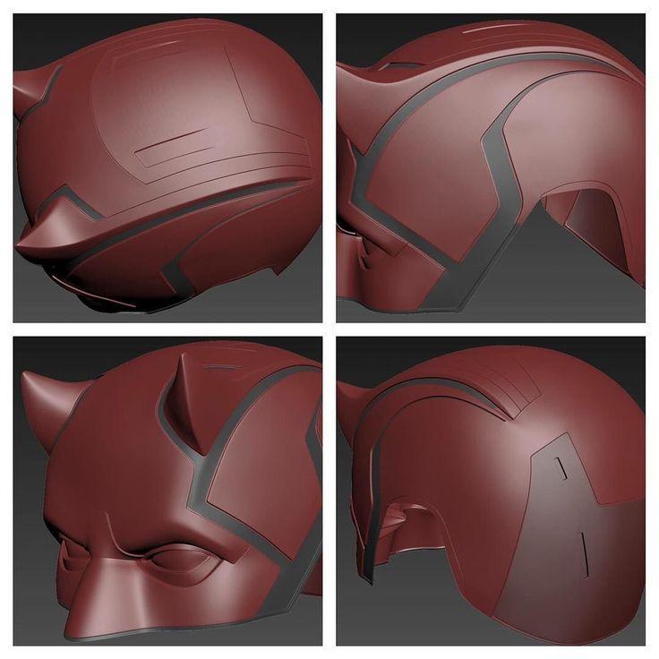 WIP photo of the Netflix DD season 2 V2 helmet #jpfx #jesterfx #netflix…