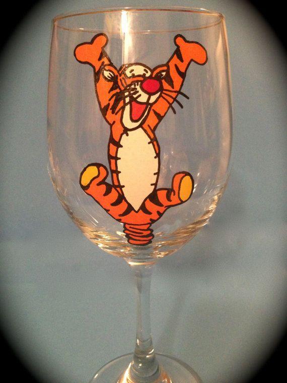 Tigger Drinking Glass