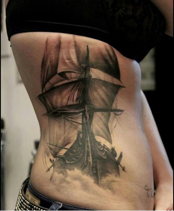 Ship tattoo //one day very soon ;)