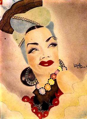 Carmen Miranda Poster