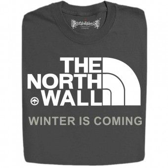The North Wall Logo Inspired By Game Of Thrones Funny Design T-Shirts And Hoodies