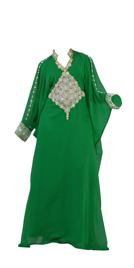 Dubai very fancy kaftans / abaya jalabiya Ladies by ZUBEDABOUTIQUE