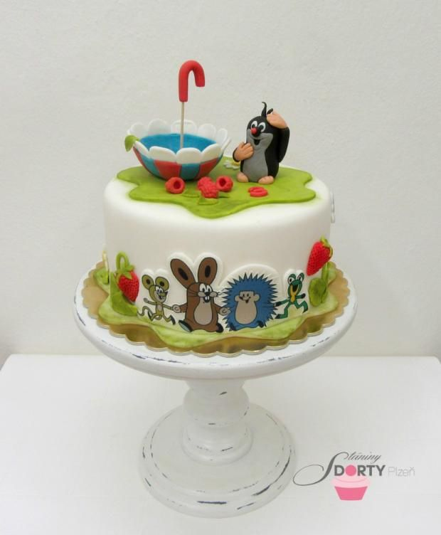 Krteček torta, rozprávkové  ...