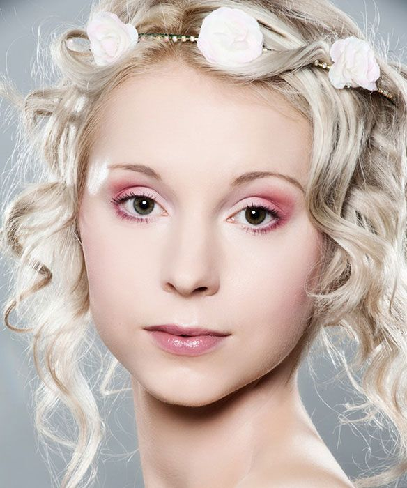 Tallulah MUA pink smokey bridal makeup