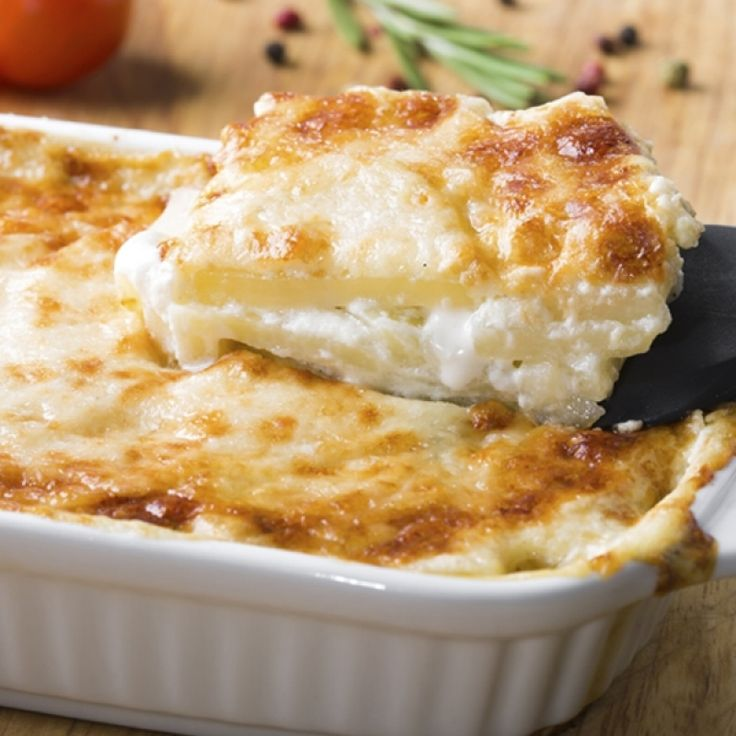 A Hearty recipe for layered potato cheese casserole. This is a family favorite dish.. Layered Potato Cheese Casserole Recipe from Grandmothers Kitchen.