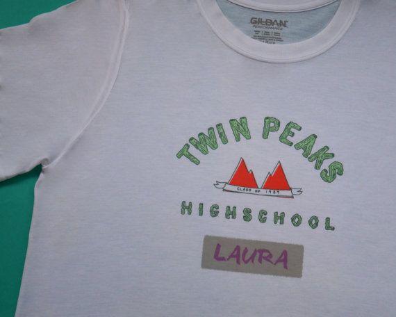 Twin peaks Highschool gym shirt by UnderachieversA on Etsy