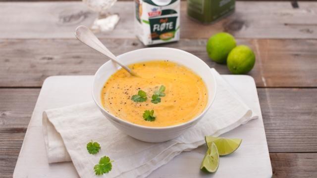 Eksotisk suppe til en vinterlig årstid!