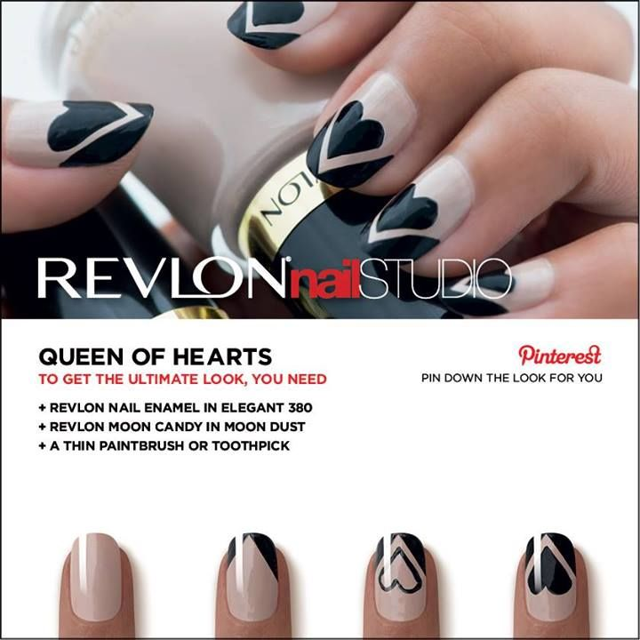 Revlon Nail Studio | Queen of Hearts #NailArt