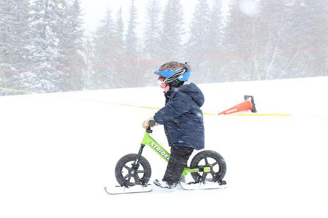 2nd Annual STRIDER Snow Cup by StriderBikes, via Flickr Strider Snow - płozy do rowerka biegowego Strider. http://www.aktywnysmyk.pl/akcesoria-do-rowerkow-strider/1179-plozy-do-rowerka-biegowego-strider.html