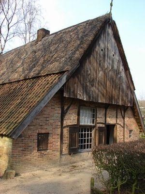 Los Hoes, Nederlands Openluchtmuseum, Arnhem, Gelderland.