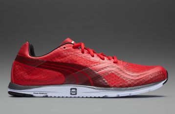 Puma Faas 100 R - Mens Running Shoes - Red