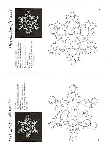 77 best CHIACCHIERINO TATTING NATALE images on Pinterest