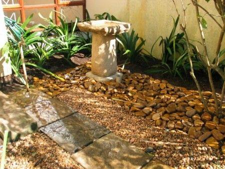 sandstone birdbath
