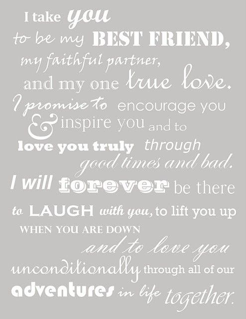 Really like these vows!Ideas, Inspiration, Best Friends, Sweets, I Love You, Stuff, Quotes, Wedding Vows, Traditional Wedding