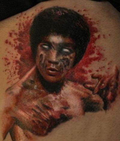 Zombie Bruce Lee!