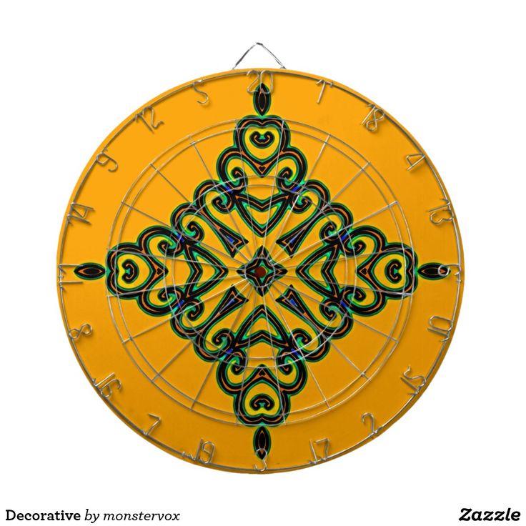 Decorative Dartboard #Decorative #Ornament #Design #Art #Game #DartBoard