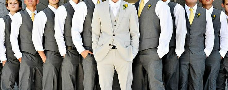 Grey Wedding Suits, Men Wedding Suits, Grey Wedding Tuxedos 4 ...