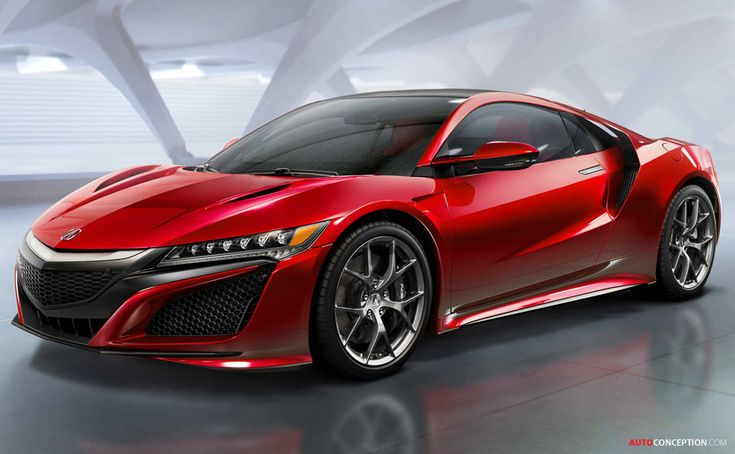 2015 Honda NSX - a little bit too furistic but some design aspects are interesting. (H)